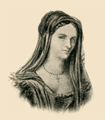 http://commons.wikimedia.org/wiki/File:Clara_Gazul.JPEG
