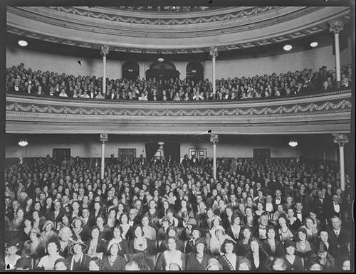 http://commons.wikimedia.org/wiki/File:His_Majesty's_Theatre,_Perth_1932_audience.jpg