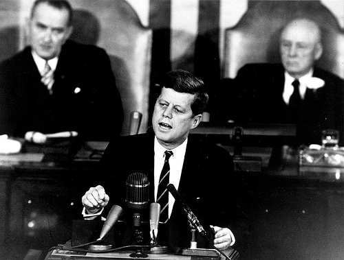 http://commons.wikimedia.org/wiki/File:Kennedy_Giving_Historic_Speech_to_Congress_-_GPN-2000-001658.jpg
