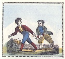 http://commons.wikimedia.org/wiki/File:Walking_wager_1800_primer_illustration.jpg