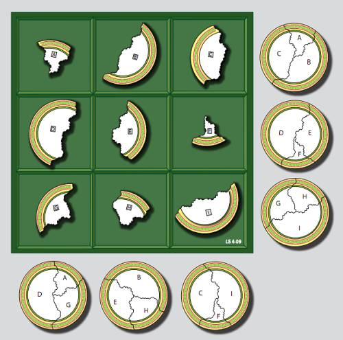 sallows geometric magic square