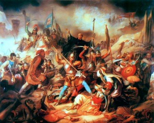 http://commons.wikimedia.org/wiki/File:Battle_of_Nandorfehervar.jpg