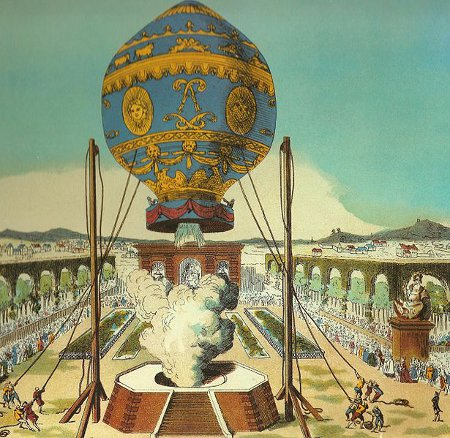 http://commons.wikimedia.org/wiki/File:Montgolfier_brothers_flight.jpg