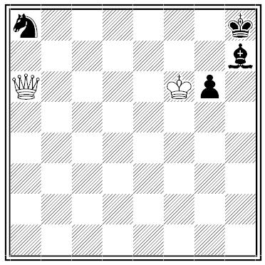Sam Loyd chess puzzle, Detroit Free Press, 01-27-1877