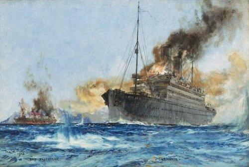 http://commons.wikimedia.org/wiki/File:Sinking_Cap_Trafalgar.jpg