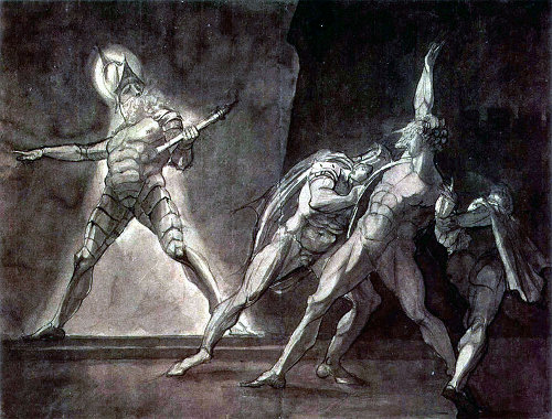 http://commons.wikimedia.org/wiki/File:Henry_Fuseli_rendering_of_Hamlet_and_his_father's_Ghost.JPG