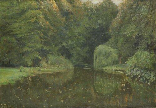 http://commons.wikimedia.org/wiki/File:Skarbina_Parkweiher_Partie_im_Tiergarten.jpg