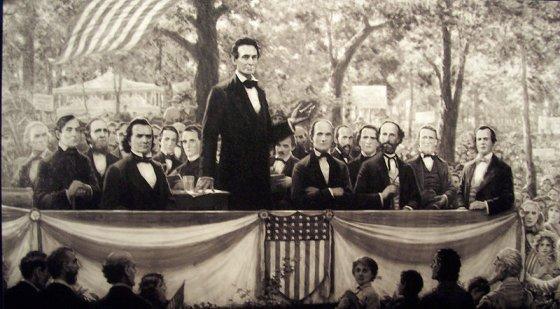 http://commons.wikimedia.org/wiki/File:Lincoln_debating_douglas.jpg