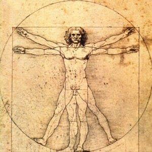 http://commons.wikimedia.org/wiki/File:Homme_de_vitruve.jpg
