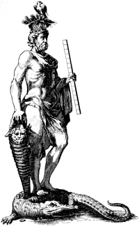 http://commons.wikimedia.org/wiki/File:Serapis_on_crocodile.png