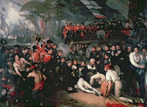 http://commons.wikimedia.org/wiki/File:Death_of_Nelson.jpg