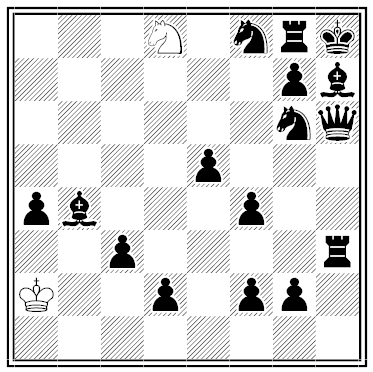 kipping outmanned chess problem solution