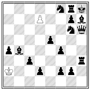kipping outmanned chess problem