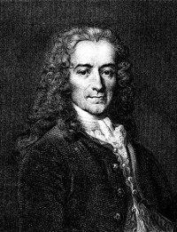 François-Marie Arouet, aka Voltaire