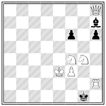 sam loyd chess problem