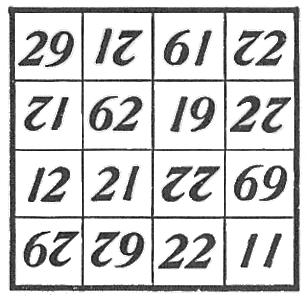jones reversible magic square