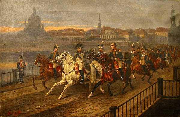 http://commons.wikimedia.org/wiki/File:Brodowski_Napoleon_Elbe.jpg