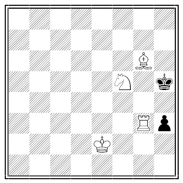 fabel footsoldier chess puzzle - solution