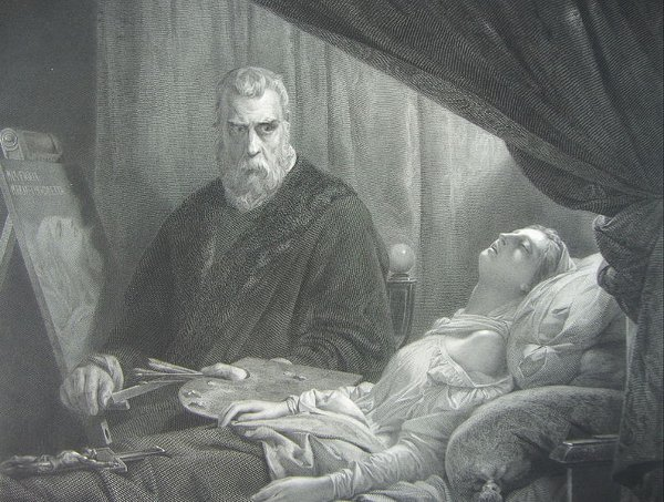http://commons.wikimedia.org/wiki/File:Tintoretto_am_totenbett_seiner_tochter.jpg