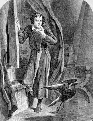 http://commons.wikimedia.org/wiki/File:Tenniel-TheRaven.jpg