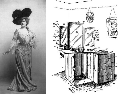 http://commons.wikimedia.org/wiki/File:Lillian_Russell_4.png