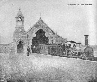 http://en.wikipedia.org/wiki/Rookwood_Cemetery_railway_line,_Sydney