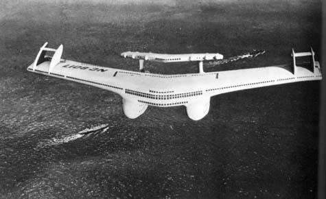 bel geddes flying boat