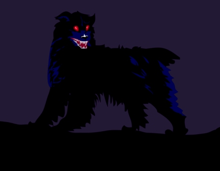 http://commons.wikimedia.org/wiki/File:Ghost-BlackDog.jpg