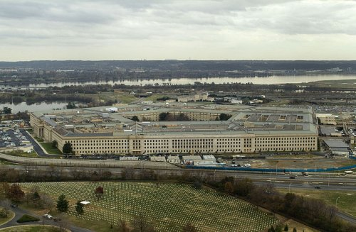 http://commons.wikimedia.org/wiki/File:The_Pentagon_US_Department_of_Defense_building.jpg