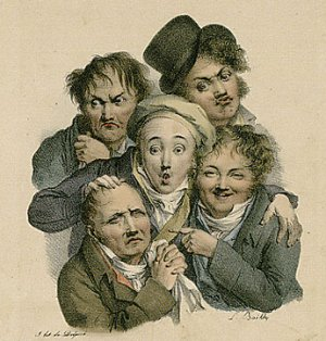 http://commons.wikimedia.org/wiki/File:Louis_L%C3%A9opold_Boilly_-_Les_grimaces.jpg
