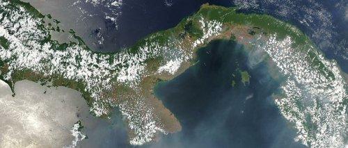 http://en.wikipedia.org/wiki/File:Satellite_image_of_Panama_in_March_2003.jpg