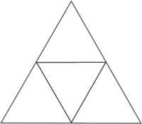 http://commons.wikimedia.org/wiki/File:Equilateral_triangle_cut_to_4.svg