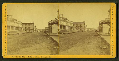 http://commons.wikimedia.org/wiki/File:View_in_the_city_of_Duluth,_Minn.--Superior_St,_from_Robert_N._Dennis_collection_of_stereoscopic_views.jpg