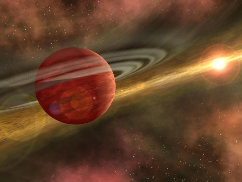 http://commons.wikimedia.org/wiki/File:Planet_formation.jpg