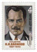 http://commons.wikimedia.org/wiki/File:USSR-Stamp-1977-NIVavilov.jpg