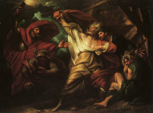 http://commons.wikimedia.org/wiki/File:Benjamin_West_King_Lear_Act_III_scene_4.jpg