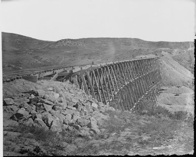 http://commons.wikimedia.org/wiki/File:Trestle_work,_Echo_Canyon,_450_feet_long_and_75_feet_high._Summit_County,_Utah._-_NARA_-_516630.jpg