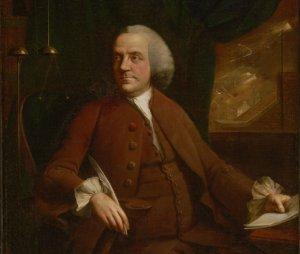 http://commons.wikimedia.org/wiki/File:Chamberlin_-_Benjamin_Franklin_(1762).jpg