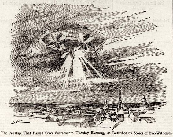 http://commons.wikimedia.org/wiki/File:Mystery_airship_SFCall_Nov_19_1896.jpg