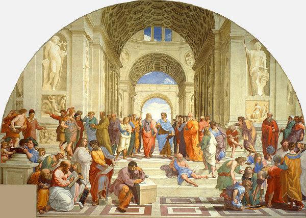 http://commons.wikimedia.org/wiki/File:La_scuola_di_Atene.jpg