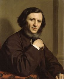 http://commons.wikimedia.org/wiki/File:Robert_Browning_by_Michele_Gordigiani_1858.jpg