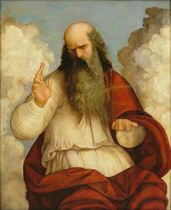 http://commons.wikimedia.org/wiki/File:Ludovico_Mazzolino_-_God_the_Father.jpg