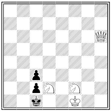 schlechter chess problem