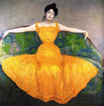 http://commons.wikimedia.org/wiki/File:Max_Kurzweil_1899_Mujer_con_un_vestido_amarillo.jpg