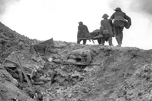 http://commons.wikimedia.org/wiki/File:Stretcher_bearers_Battle_of_Thiepval_Ridge_September_1916.jpg
