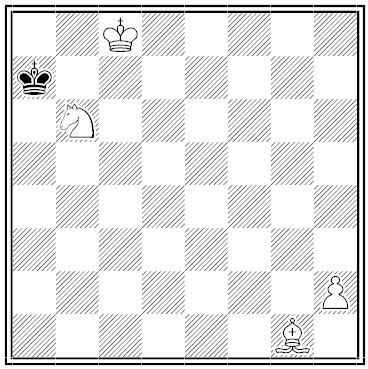 smullyan sherlock holmes chess problem 2