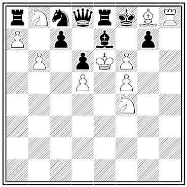 koltanowski chess problem