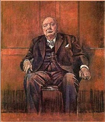 sutherland churchill portrait