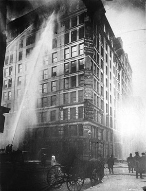 http://commons.wikimedia.org/wiki/File:Image_of_Triangle_Shirtwaist_Factory_fire_on_March_25_-_1911.jpg