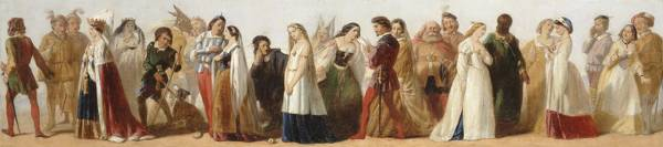 http://commons.wikimedia.org/wiki/File:Procession_of_Characters_from_Shakespeare%27s_Plays_-_Google_Art_Project.jpg